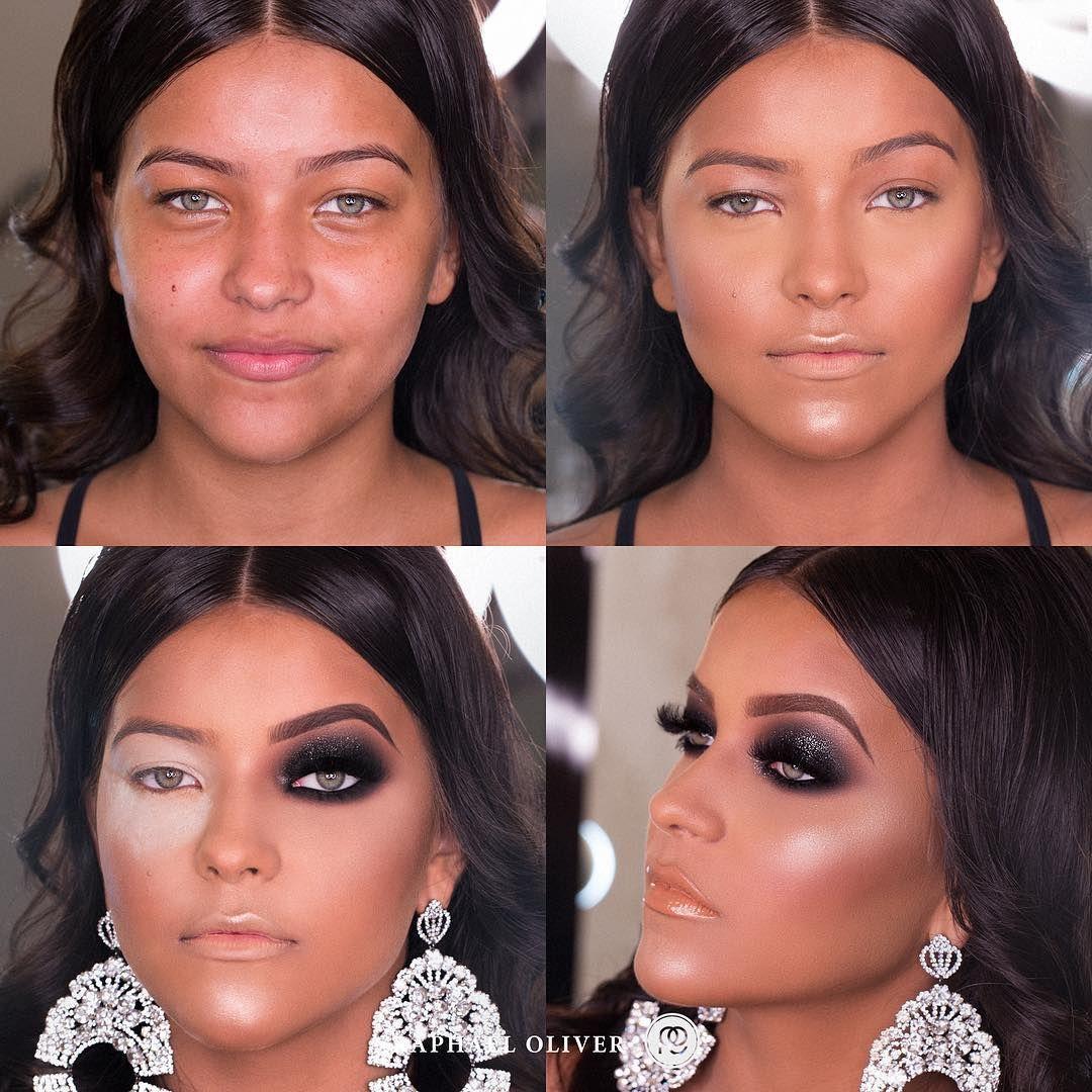 Boa Tarde Pessoal Smokey Eyes Com A Sombra Cinderfella Maccosmetics Model Laraa Medeiros Brown Skin Makeup Makeup Makeover Korean Beauty Tips