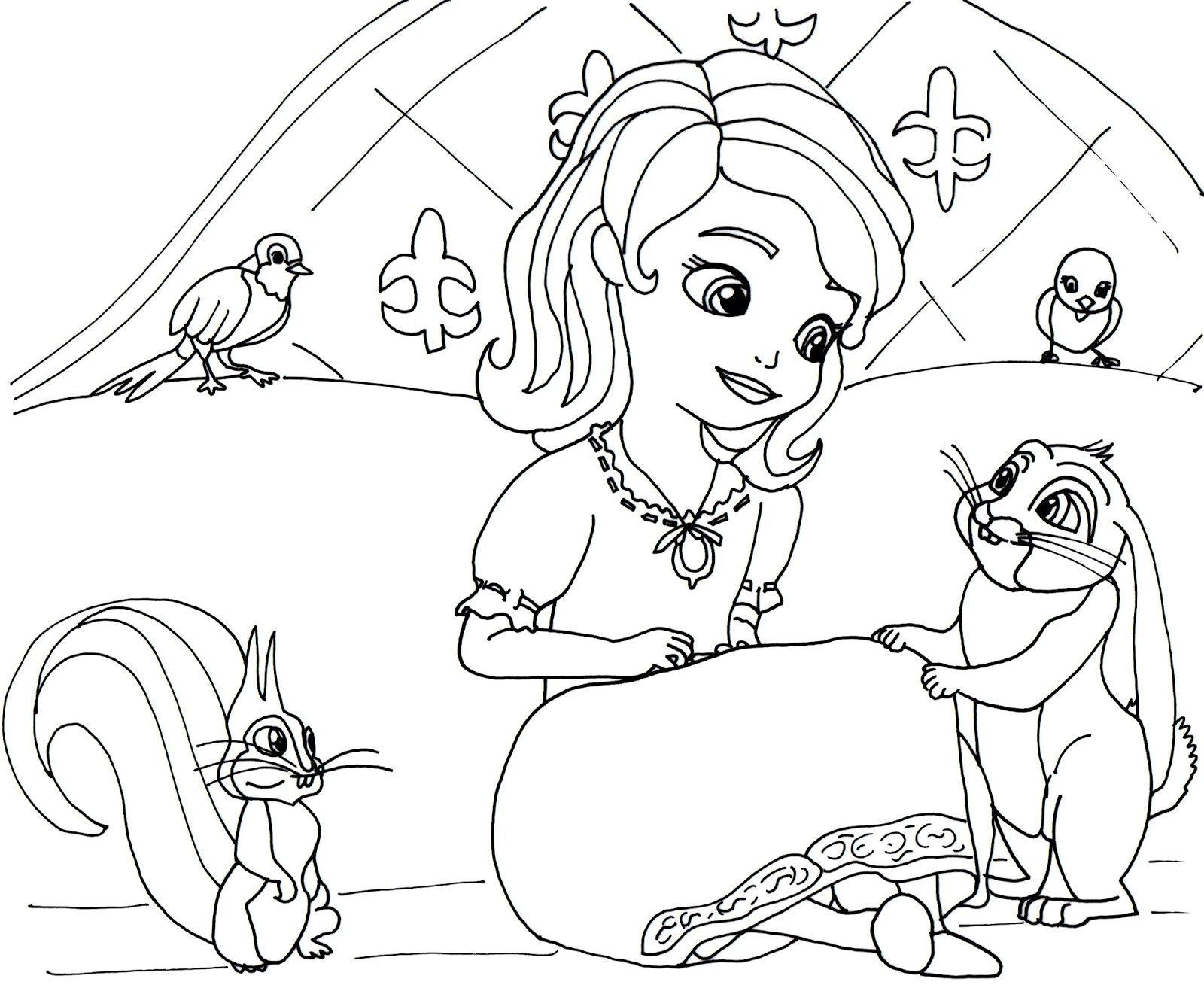 Die Besten Von Ausmalbilder Prinzessin sofia Ideen Of ...