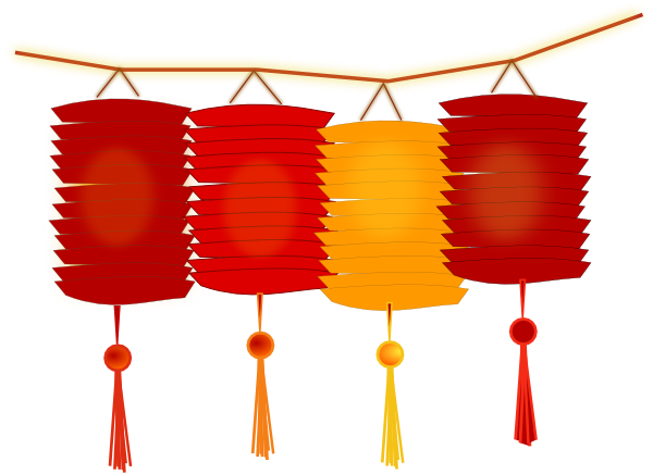 Chinesen Cliparts Paper Lanterns Clip Art At Clker Com Vector Clip Art Online Royalty Chinese New Year Crafts Chinese New Year Images Year Of The Horse