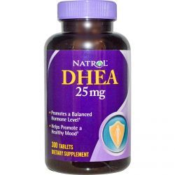 Natrol, Dhea, 25 Mg, 300 Tablets, Diet Suplements 蛇