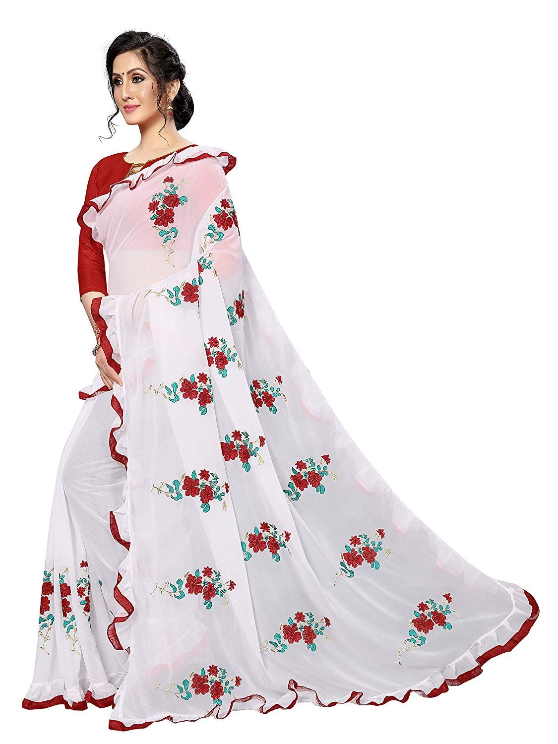 Saree women Style Traditional wear Beautiful Saree