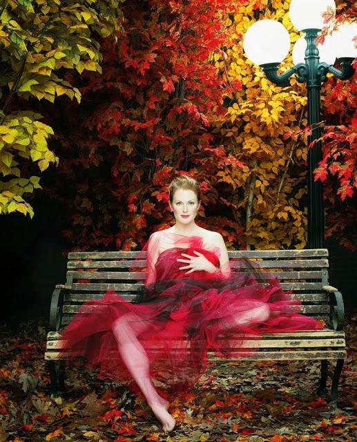 Red Autumn Tulle.