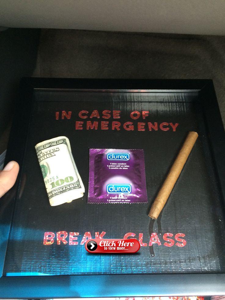 Diy graduation gift in case of emergency break glass