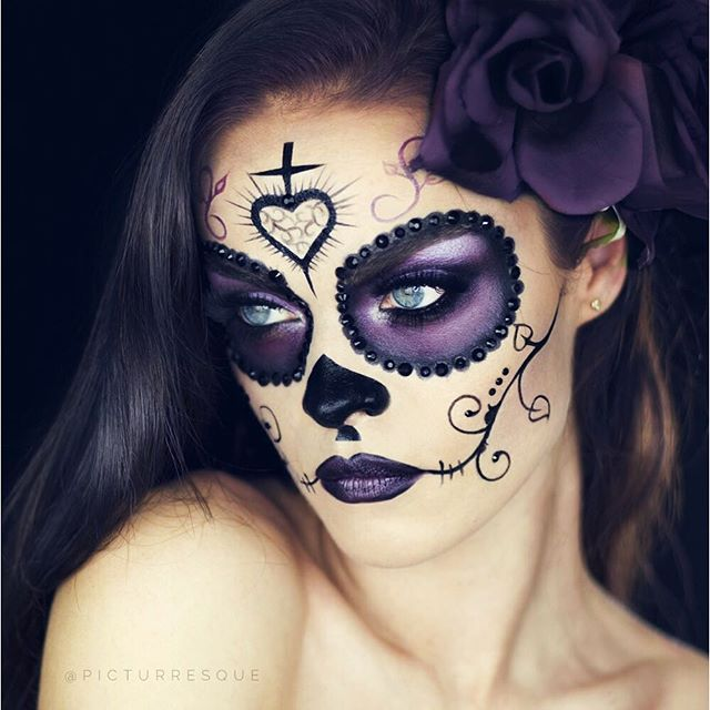 Sugar Skull MakeUp by Instagramer picturresque