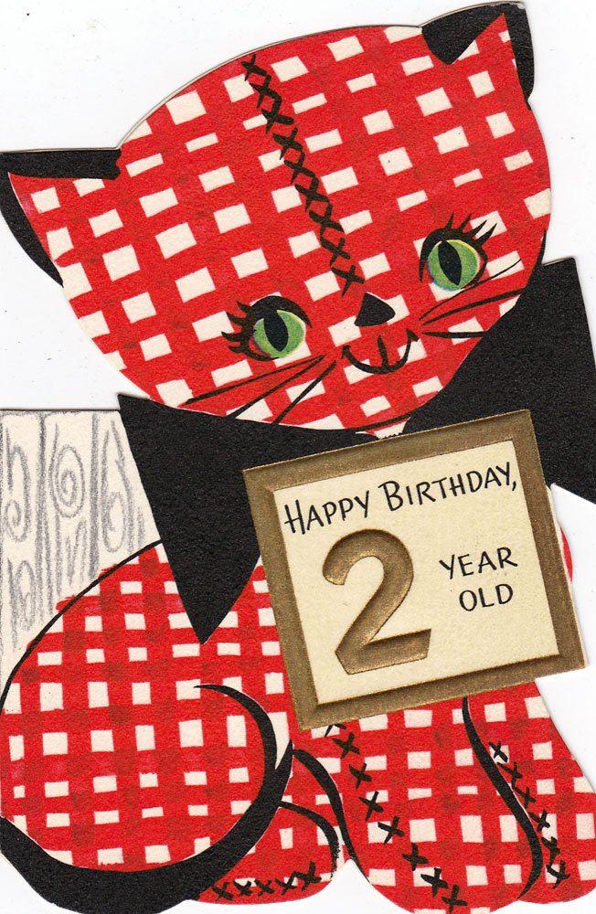 Vintage Birthday Card