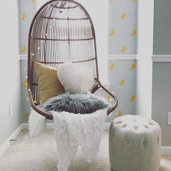 Willow Swingasan Light Brown Hanging Chair As, Book and Bedrooms