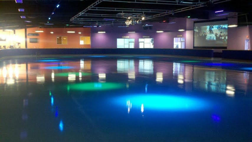 how to build a roller rink floor