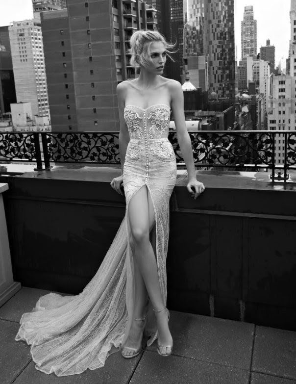 These Inbal Dror wedding dresses are killing it with the old ...