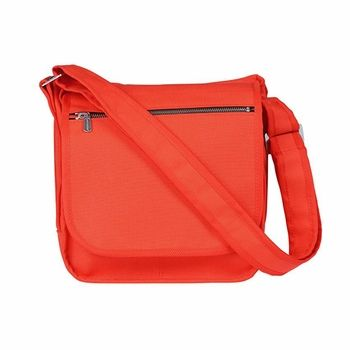 A scaled down version of a Finnish favorite, this bright beauty has the same great features of the classic Olkalaukku but in a smaller, more convenient size. Marimekko Mini Olkalaukkuu Orange Shoulder Bag - $139