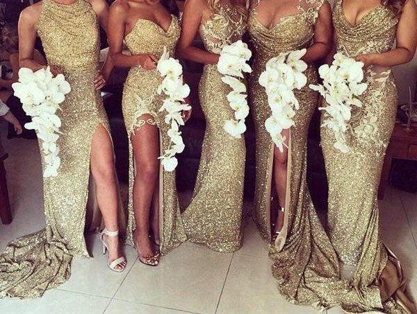 Glamorous Bridesmaid Dresses