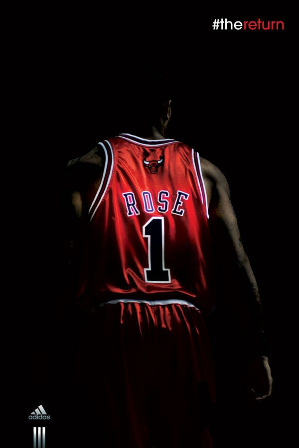 Derrick Rose 'The Return' Billboard ermahgod I am definately getting this in poster size!   my 4 ...