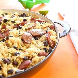 Lazy saturday requires an easy one pot brazilian sausage with rice a healthy and comforting one pot brazilian chicken and rice dish its easy to make and delicious forumfinder Gallery