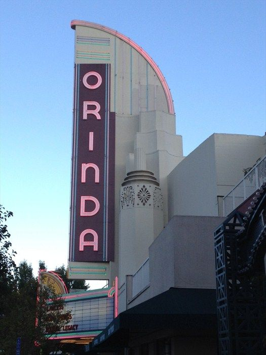 The Iconic Orinda Theatre Sign