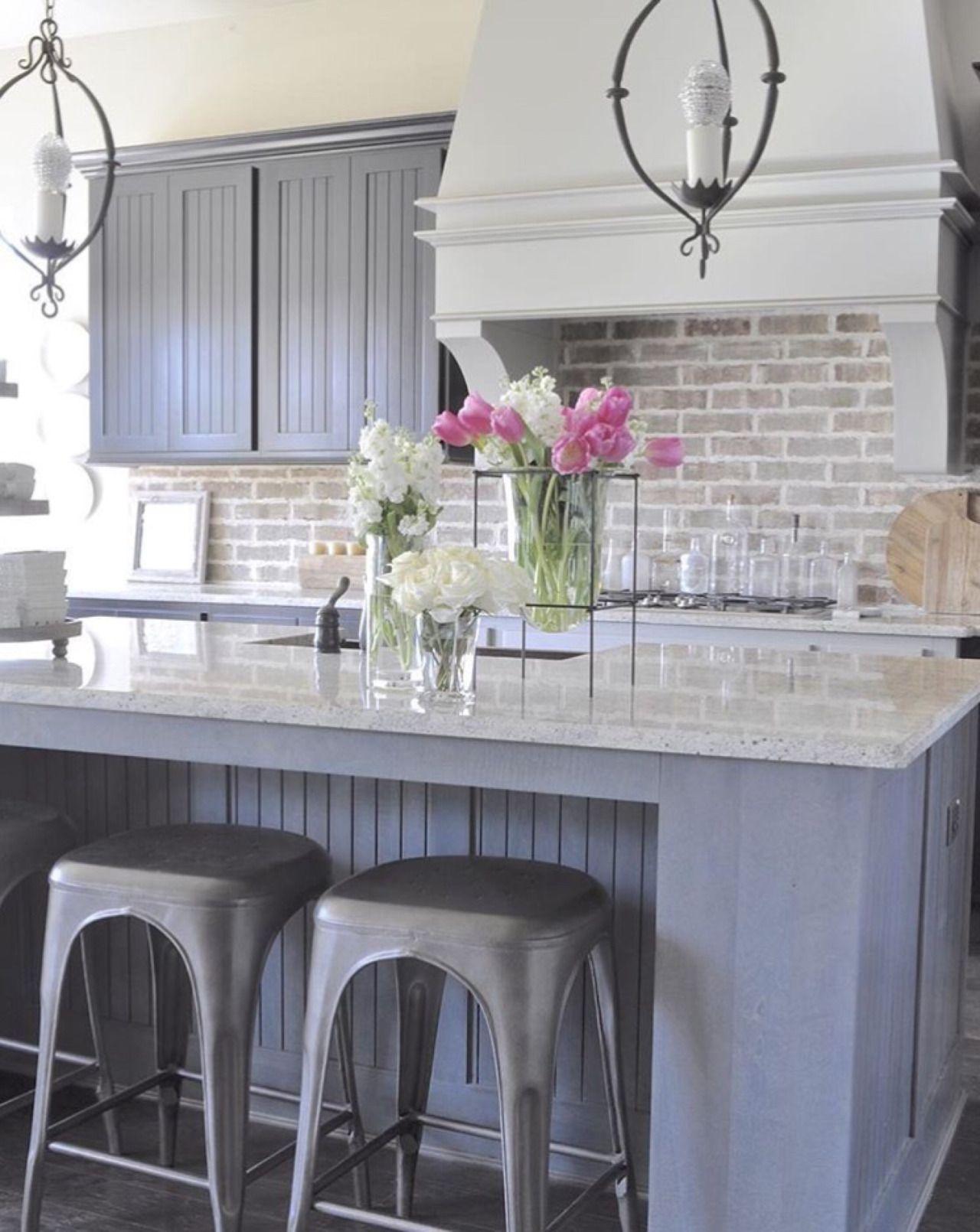 Aquietcottagelife Kitchen Backsplash Designs Brick Kitchen Home Kitchens