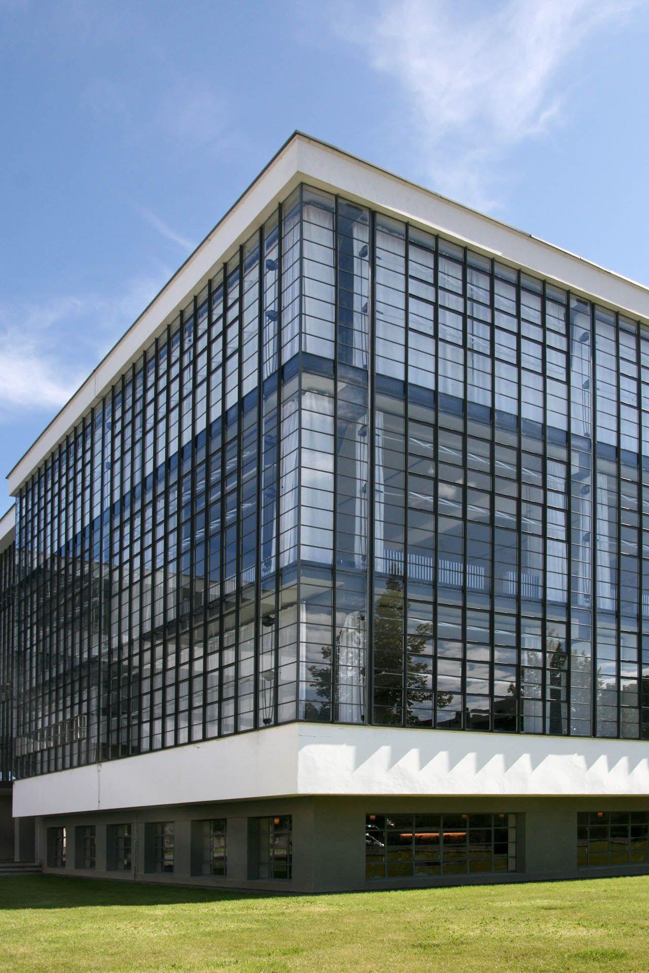 Bauhaus buildings, Dessau ©Christin Irrgang, 2011, Stiftung Bauhaus Dessau