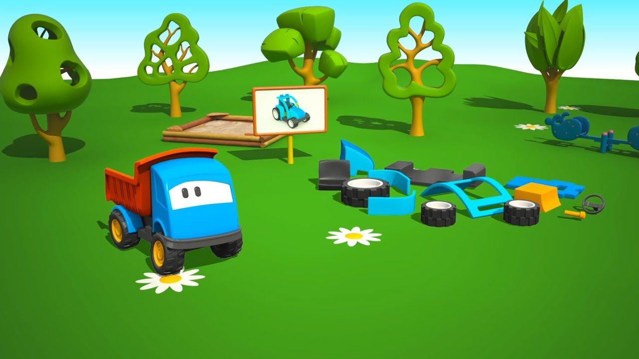 Cartoni Animati Per Bambini Leo Il Camion Curioso E Il Trattore Cartoni Animati Camion Bambini