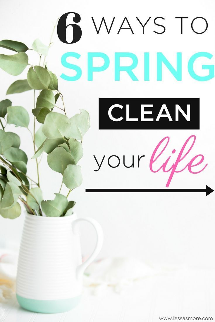 Lifehow College to spring clean your life