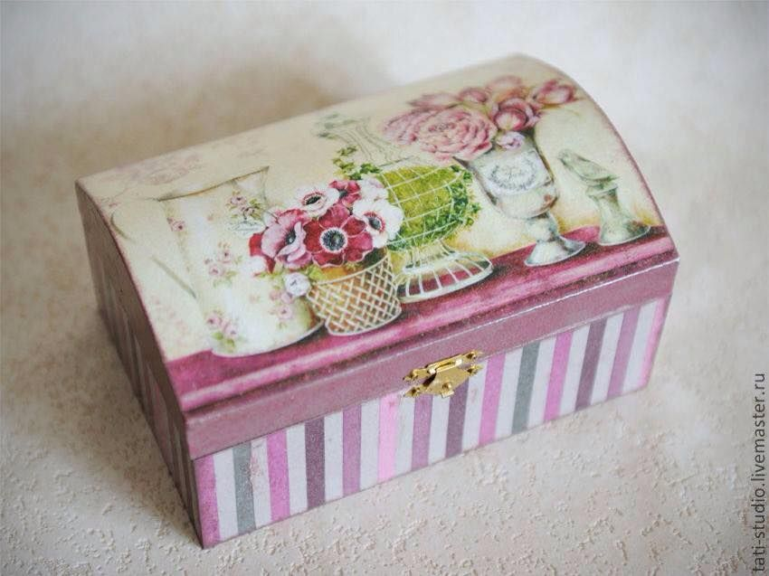 How To Decorate Boxes Baulcito  Artist  Home Decor  蝶古巴特  Pinterest  Artist And