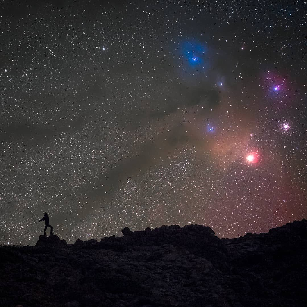 начала ночное звездное небо астрофотография запеканки
