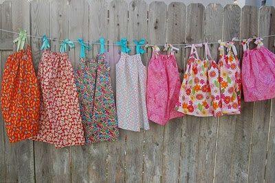 Pillowcase Dresses For Africa Lillian Weber Makes Dresses  Little Dresses For Africa Dresses