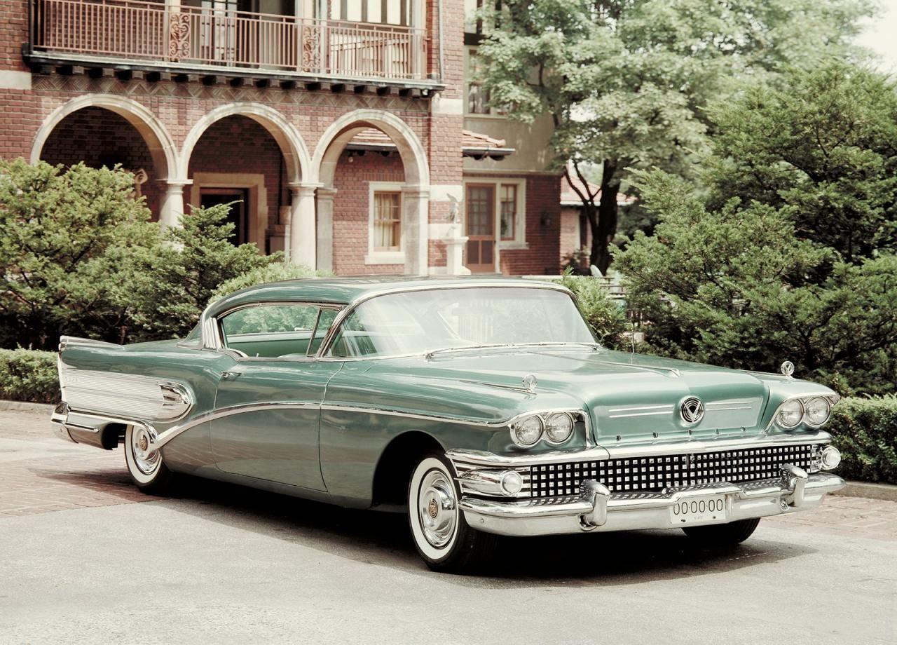 1958 Buick Super Riviera Coupe Классические автомобили
