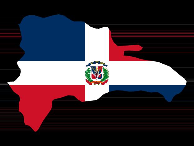 Flag Map Of Dominican Republic Free Vector Maps Dominican Republic Map Dominican Republic Flag Dominican Republic