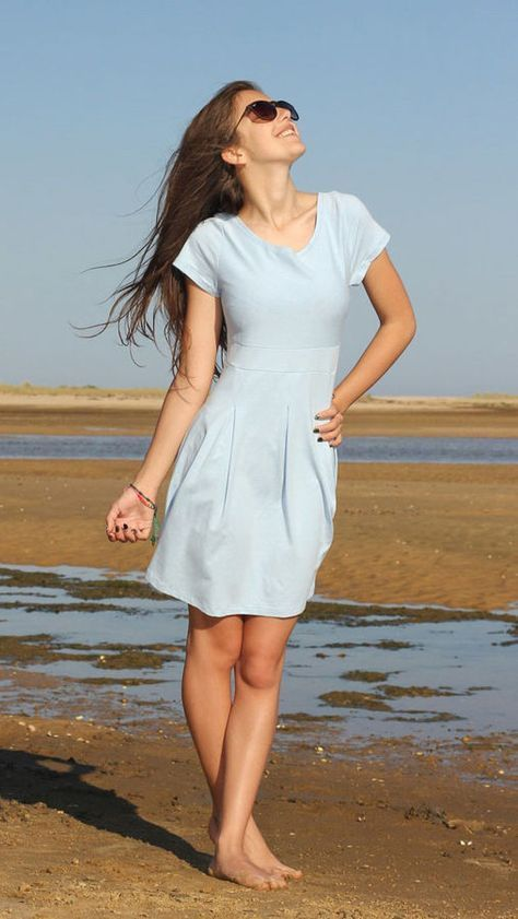 Kleid / Jerseykleid 'PIA', Schnittmuster und Nähanleitung ...