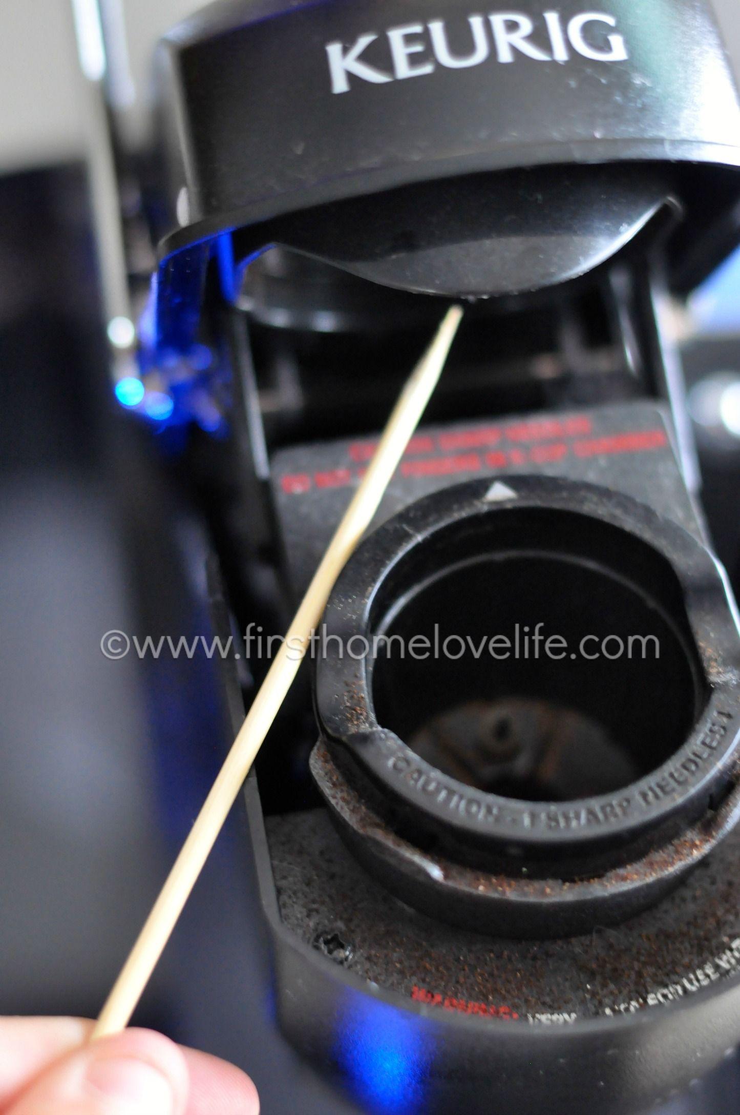 How To Clean A Clogged Keurig Keurig Cleaning Keurig Coffee