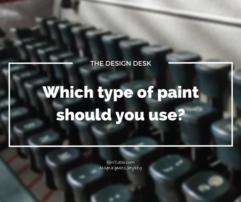 Paint finishes sheen interior decorating DIY home decor tips