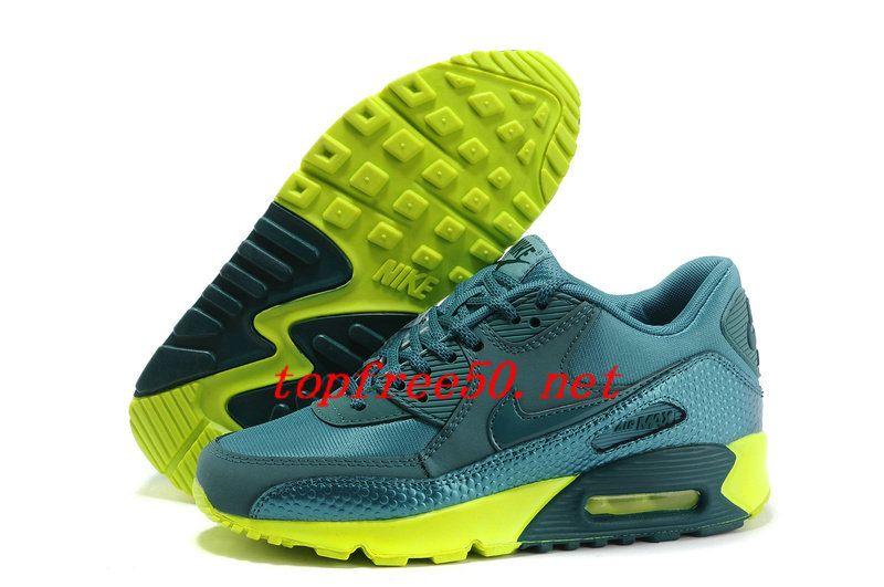 030DJC Mineral Teal Volt Dark Sea Nike Air Max 90 #Women's #Shoes #shoes
