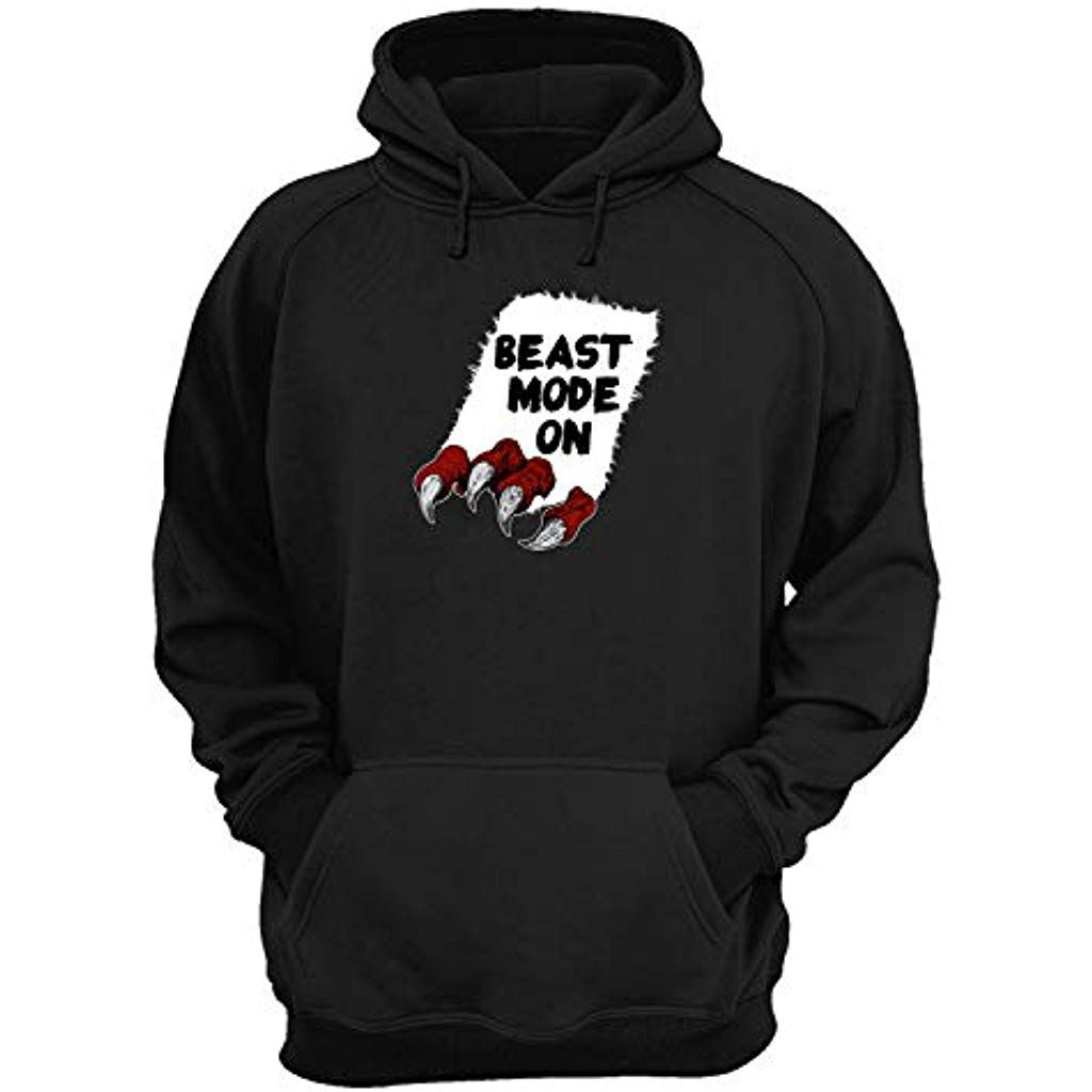 Beast Mode on Extreme_KK021377 Hoodie Sweat à Capuche