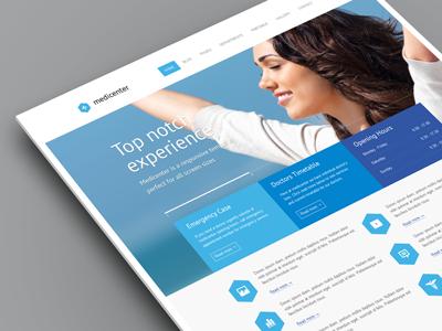 Responsive template design found on Dribbble. #webdesign #design #designer #inspiration #user #interface #ui