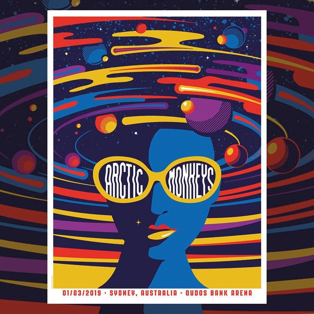 Arctic Monkeys On Instagram Available Tonight In Sydney Created By Danstiles Arctic Monkeys Album Cover Arctic Monkeys Posters Arctic Monkeys Poster Art