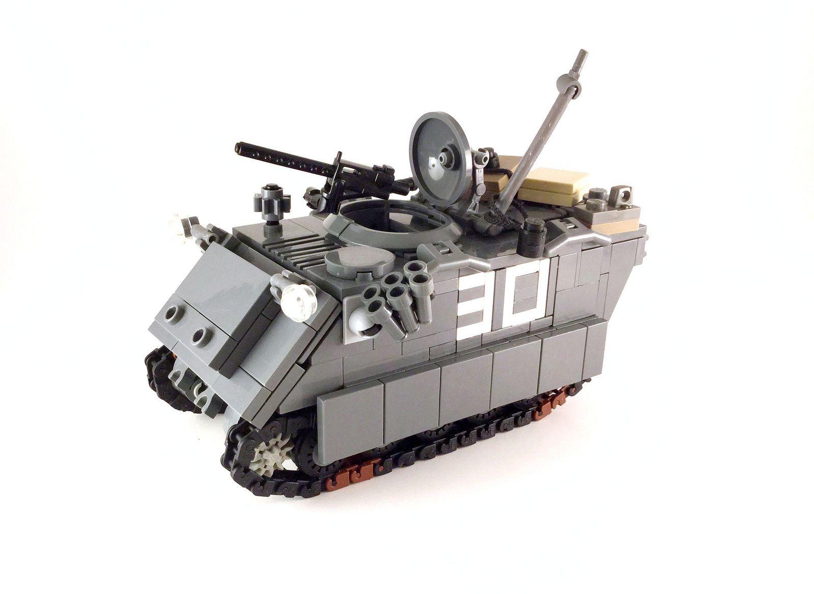 M113 APC - 01 | lego Militär, Lego und Militär