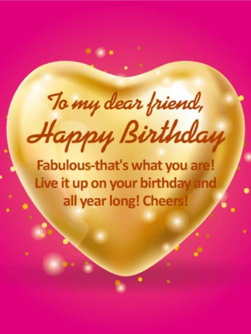 Birthday greetings for friend happy birthday quotes and wishes in birthday greetings for friend m4hsunfo