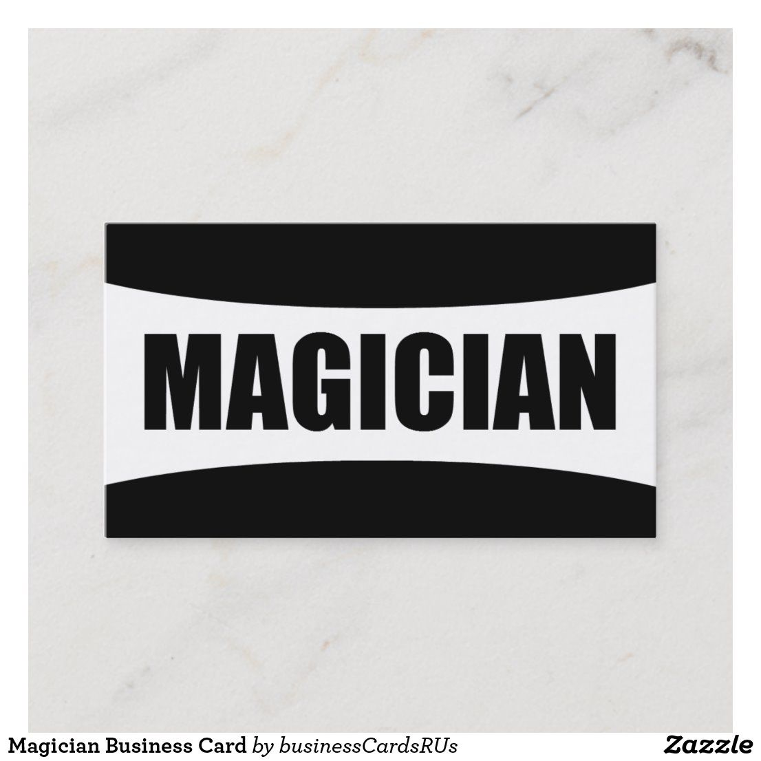 Magician Business Card Zazzle Com The Magicians Cards Business Cards