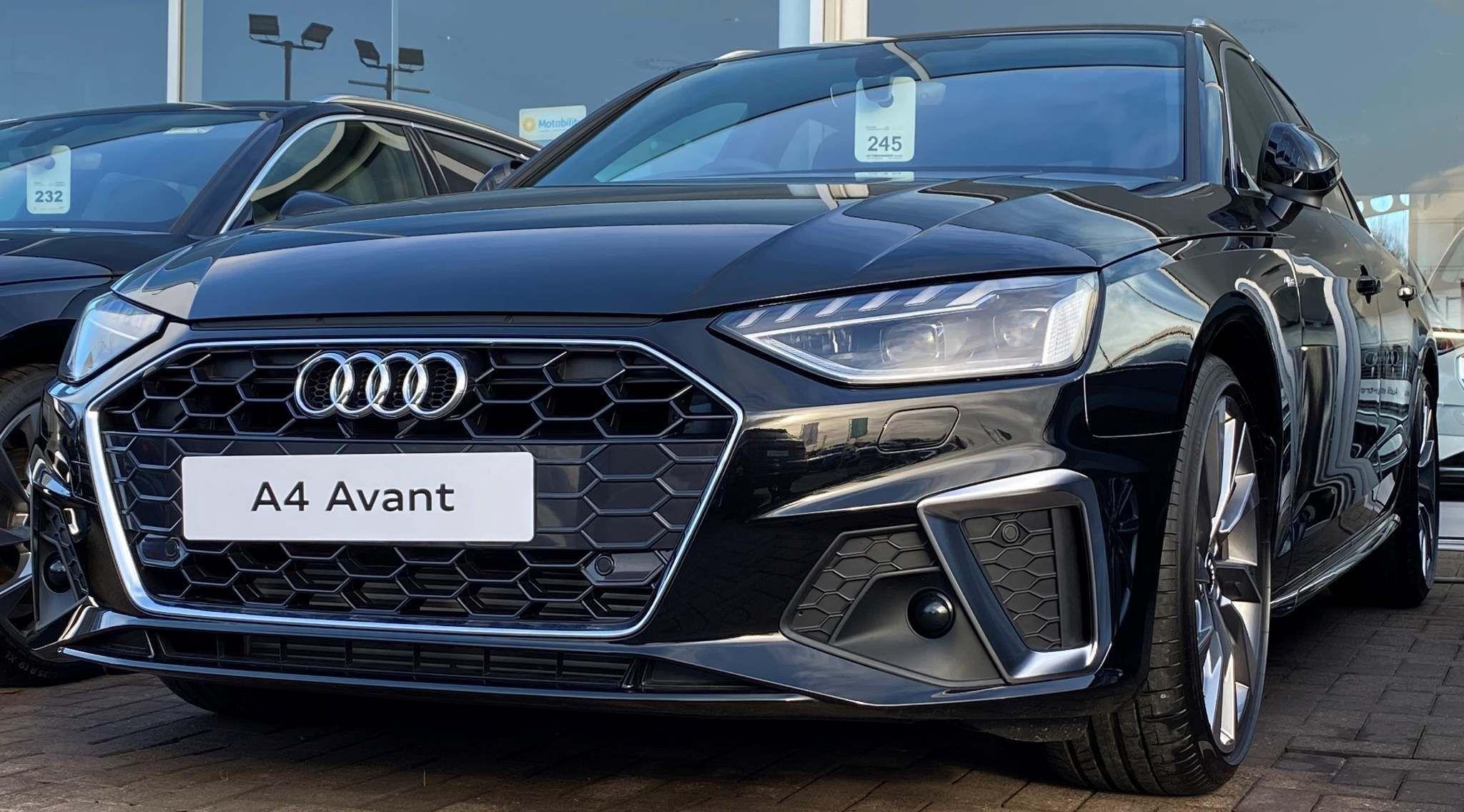 Audi A4 Avant 2 0 Tfsi 40 S Line Avant S Tronic S S 5dr In 2020 Audi A4 Audi Used Audi