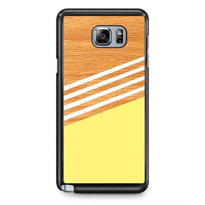 Wood Color TATUM-12038 Samsung Phonecase Cover Samsung Galaxy Note 2 Note 3 Note 4 Note 5 Note Edge
