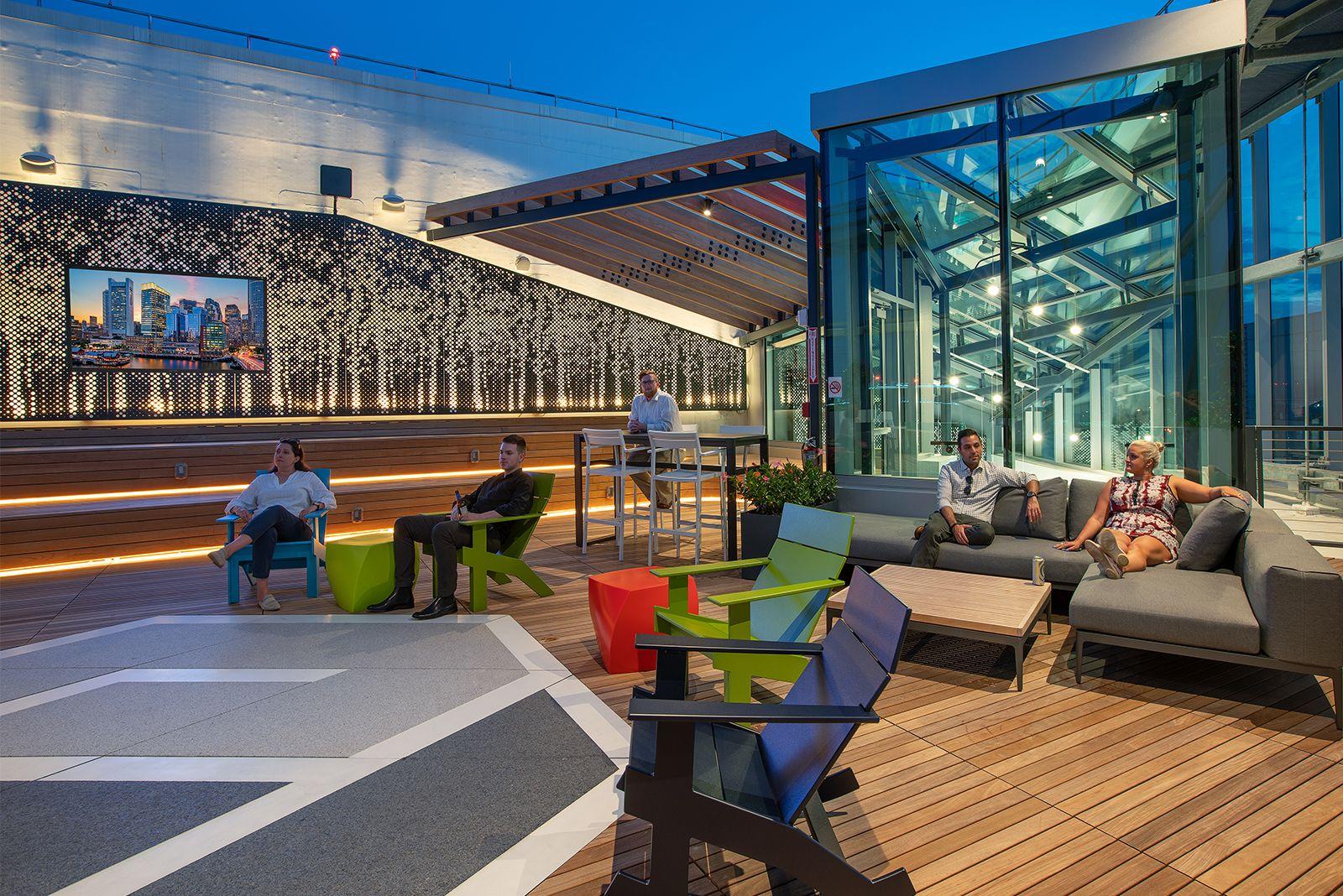Ptc Roof Deck In 2020 Workplace Design Design Outdoor Decor