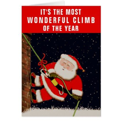 rock climbing christmas cards xmascards christmaseve christmas eve christmas merry xmas family holy kids gifts