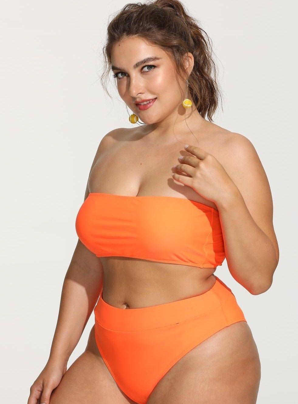 Franziska Real Women Bikinis Swimwear Curvy Summer Beautiful Plus Size