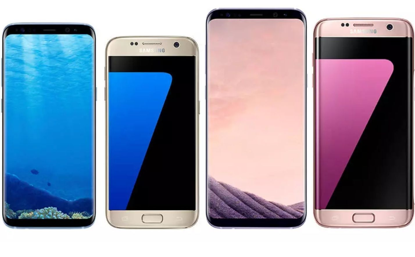 Samsung Galaxy S8 Plus S8 S7 Edge S7 S6 Unlocked T Mobile At T