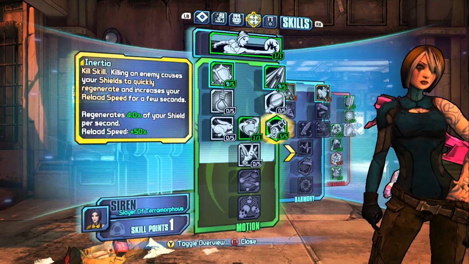 Borderlands 2 skills menu   Electronics DIY   Borderlands 2