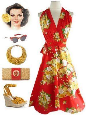 e5e89fef5575 Tropical Tiki Party, Hawaiian Luau, Tropical Party, Travel Wardrobe, Wiggle  Dress,