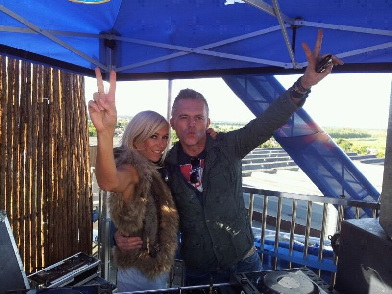 Me and DJ Kit-T at Zo.Festival 2012 in Lieshout!!!!!!!