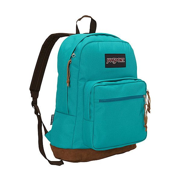 JanSport Right Pack Laptop Backpack ( 58) ❤ liked on Polyvore featuring bags e6c92d96599fe