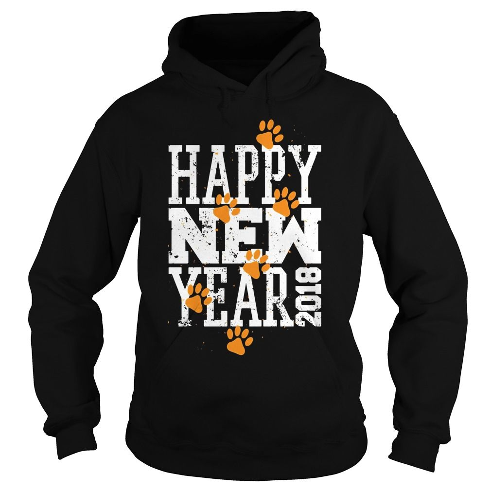 466791e9e17aae Funny Holiday Dog Lover T-shirt Happy New Year 2018 Shirt #newyear #2018
