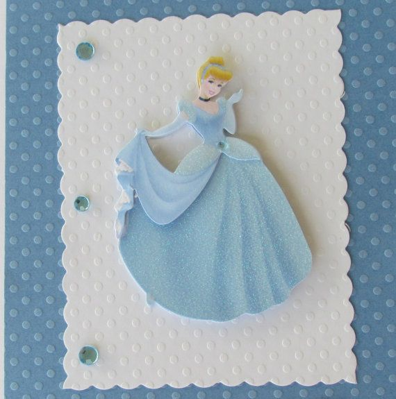 3D Cinderella Birthday Personalized Disney Princess Card Handmade Designs By AliA On Etsy 350