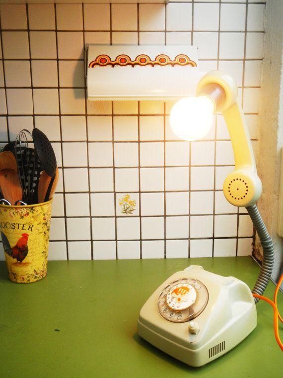 Lampofoon Draaitelefoon omgebouwd tot een leuke door BodegazStudio, €75.00