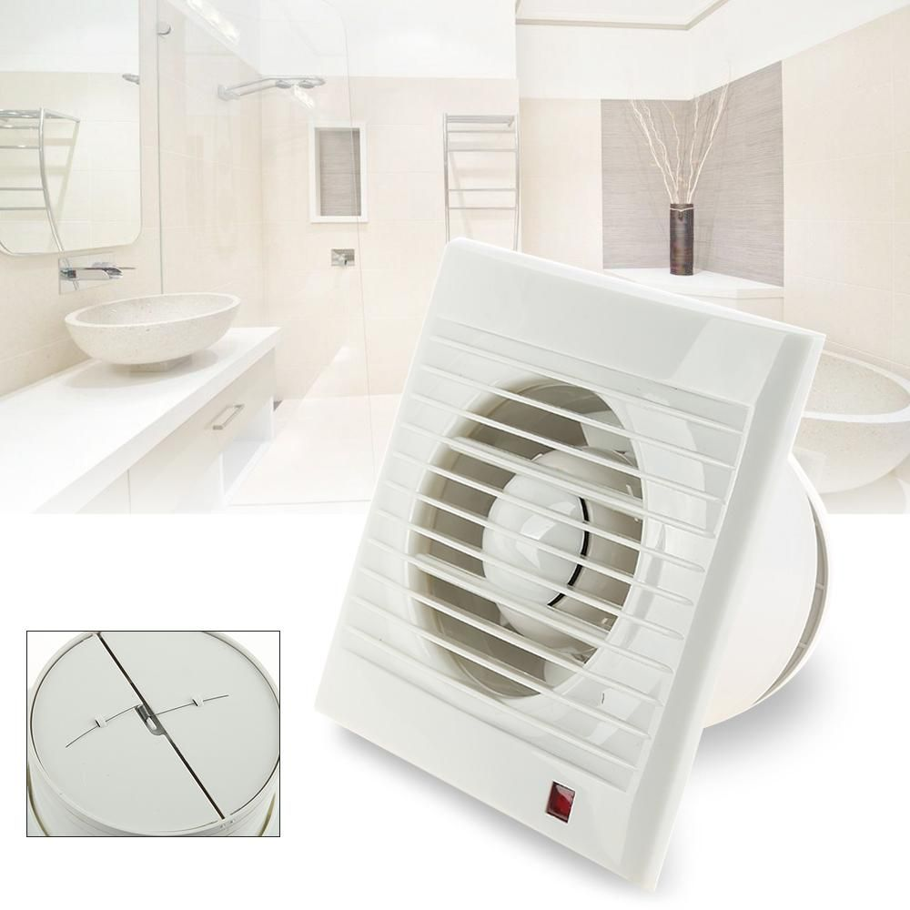 Mini Wall Window Exhaust Fan Bathroom Kitchen Toilets Ventilation Fans Windows Installation